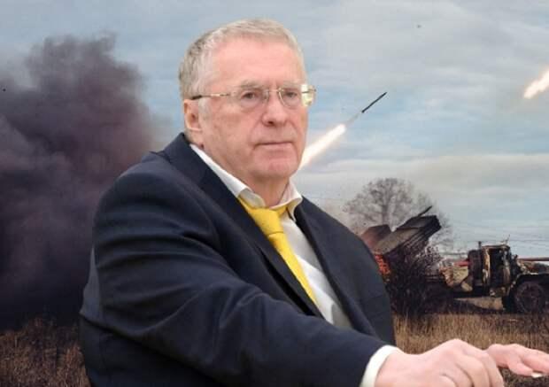 Жириновский сообщил о победителе войны в Донбассе