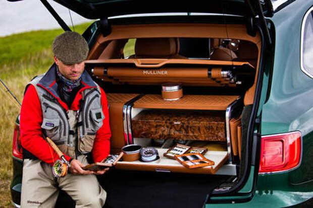 Bentley Bentayga поедет на рыбалку