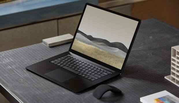 Ноутбук Microsoft Surface Laptop 4 отметился в бенчмарке с процессором AMD Ryzen 7