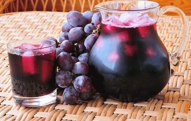 Виноградный сок из «Изабеллы» на зиму - Четыре вкуса