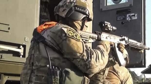 «Оказал вооружённое сопротивление»: ФСБ нейтрализовала боевика в Крыму