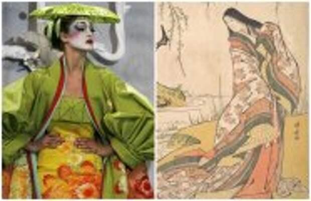 Современное искусство: Как менялось кимоно на протяжении веков и какую роль оно сыграло в искусстве: От периода Нара до наших дней