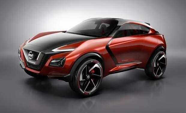 Новый Nissan Juke покажут осенью