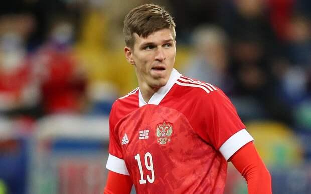Соболев объяснил отсутствие в общей группе: «На прошлой тренировке подвернул голеностоп, дали паузу»