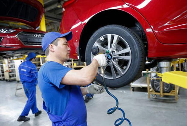 Минпромторг: автопроизводство в России сократится на 10%