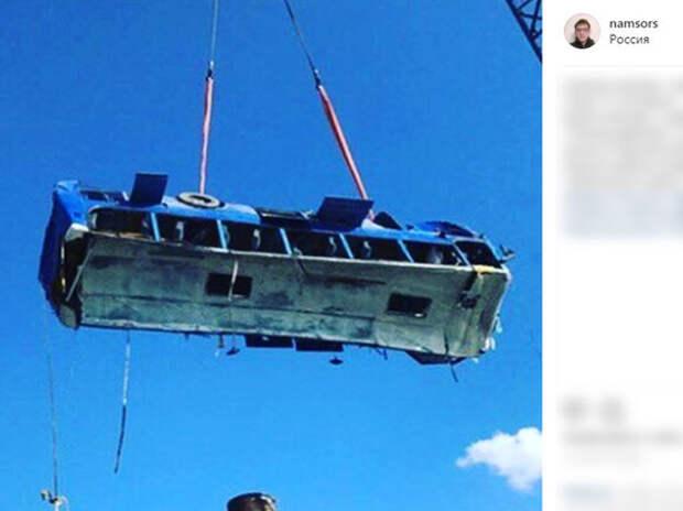 Рабочие рассказали о подоплеке трагедии с автобусом на Кубани: - «Автопарк в плачевном состоянии»