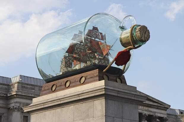 Корабль Нельсона в бутылке, 2010 год. \ Фото: univ-orleans.fr.