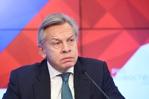 Пушков оценил слова главы британского МИД о России