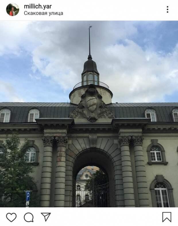 Фото дня: венское барокко в Беговом