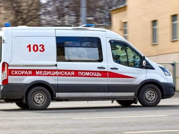 Пациентка «скорой» пострадала в ДТП в «новой Москве»