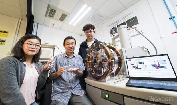 Специальный спрей превращает любой небольшой объект в подвижных роботов