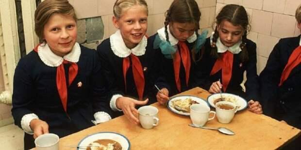 Какая была еда школьников в столовых СССР, которую помнят наши родители (Видео)