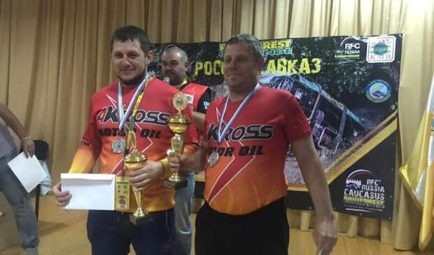НаСтаврополье назвали победителей гонки внедорожников Северного Кавказа