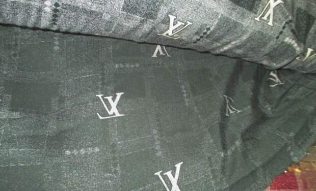 В Краснодаре таможенники нашли 95 рулонов ткани под Louis Vuitton