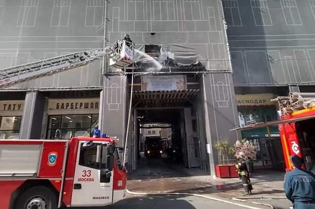 Барбершоп Тимати в центре Москвы едва не сгорел