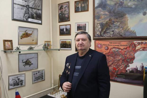 Владимир Костюченко возглавляет Союз ветеранов Афганистана ЮВАО / Фото: Ярослав Чингаев