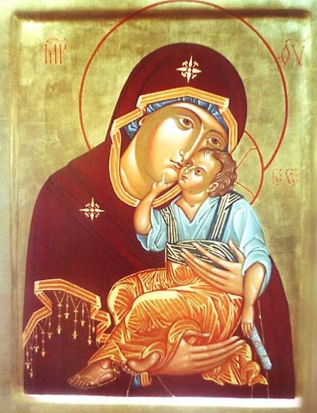 Яхромская икона Божией Матери (Заступница Небесная)
