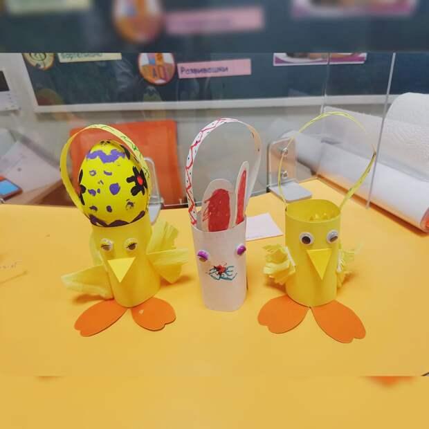 Корзинки-цыплята – весело и оригинально