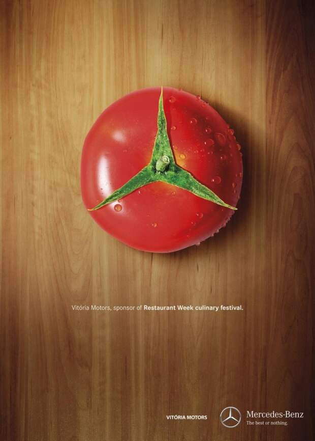 Лучшая печатная реклама марта