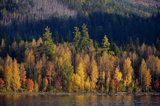 Осень в регионах России