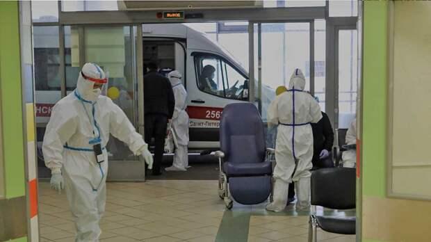 В Петербурге за сутки госпитализировали рекордное число заболевших коронавирусом