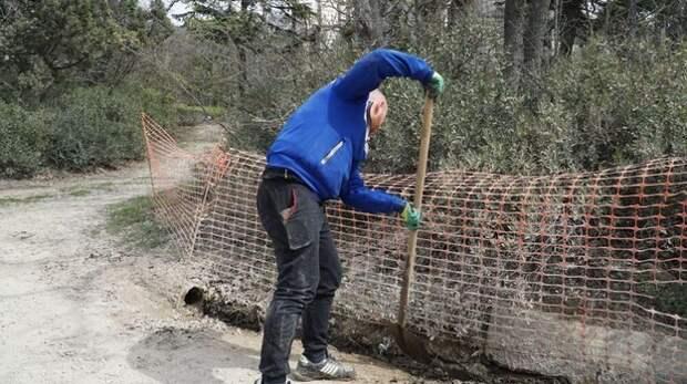 Застройщик Форосского парка начал устранять выявленные комиссией нарушения
