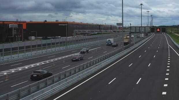 В Петербурге полностью перекроют движение по КАД между Мурманским и Колтушским шоссе