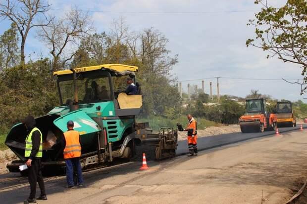 В Керчи дороги отремонтируют за 370 миллионов рублей