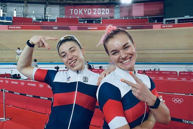Российские велосипедистки завоевали бронзу в командной гонке на Олимпиаде