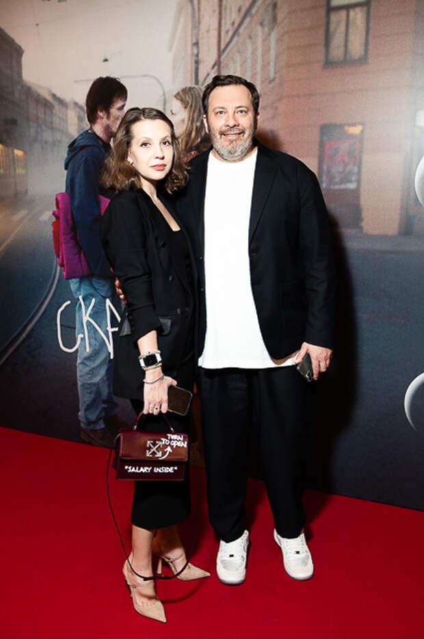 Сергей Минаев с женой