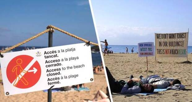 В Испании полиция зачистила Барселону от отдыхающих