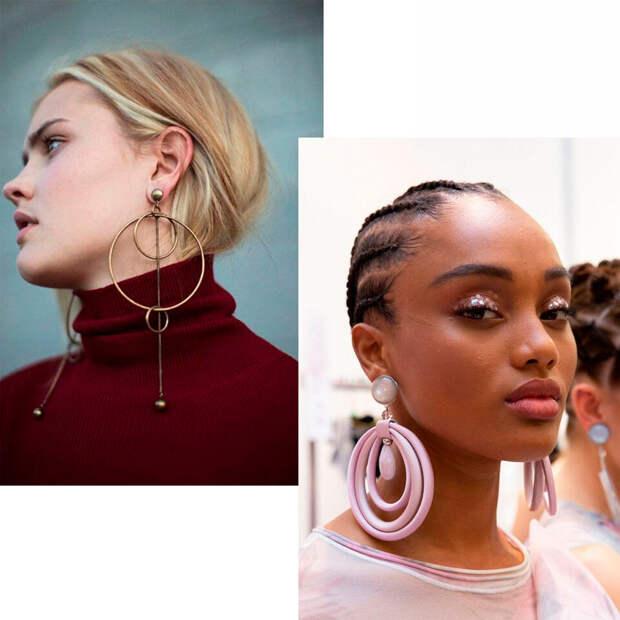 Джекеты, клаймберы, хупы: чем различаются и как носить самые модные серьги