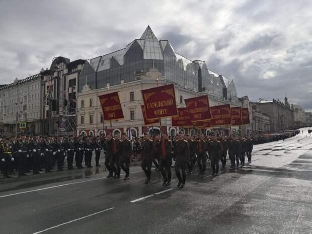 Во Владивостоке прошел военный парад, посвященный 76-ой годовщине Победы в Великой Отечественной войне