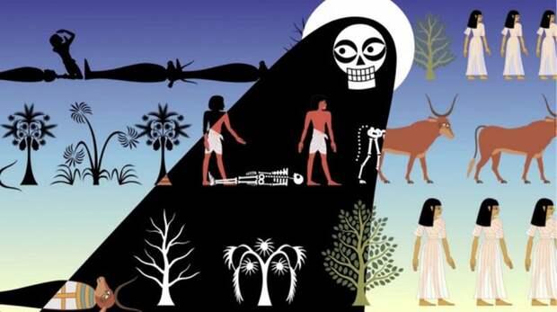 Ветхий Завет смузычкой: 10 казней египетских вкрутых музыкальных анимациях Нины Пэйли