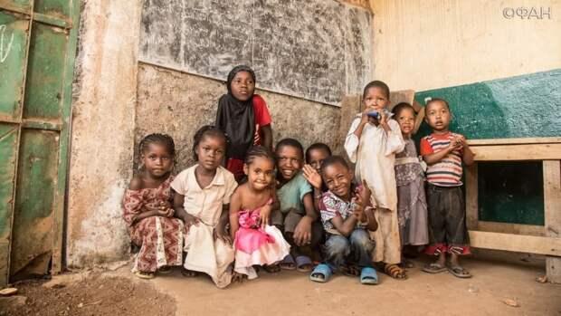 Действия боевиков в ЦАР заставили 370 тысяч детей республики покинуть дома