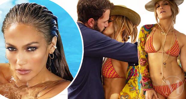 Дженнифер Лопес отметила 52-летний юбилей поцелуем с Беном Аффлеком