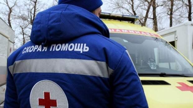 Грузовик раздавил легковушку с водителем и пассажиром на трассе под Липецком