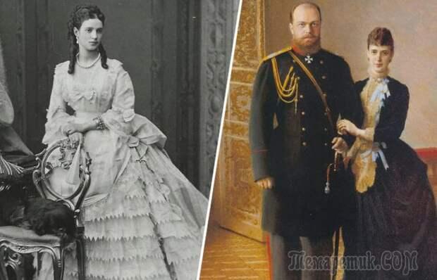 Возлюбленная двух цесаревичей и мать последнего российского императора Николая II