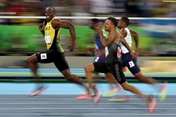 Ямайский легкоатлет Усэйн Болт