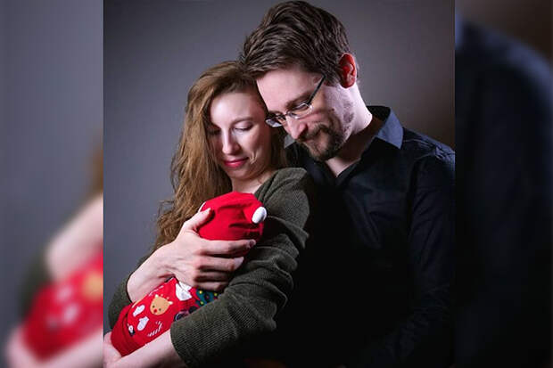 Экс-сотрудник ЦРУ Сноуден стал отцом