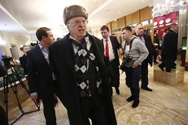 Жириновский раскритиковал кремлевский конкурс «Лидеры России»: он для карьеристов