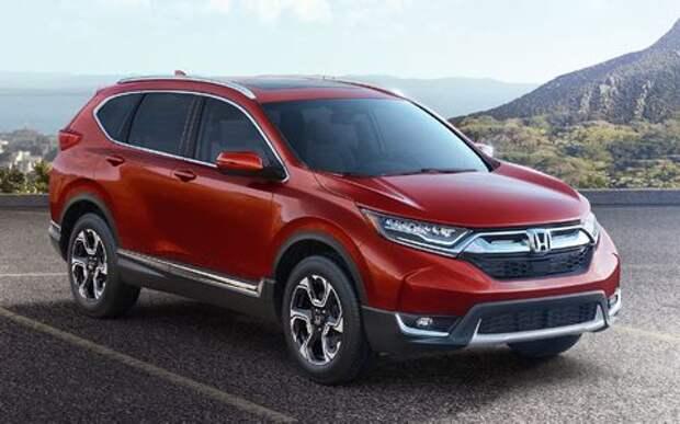 Виртуальный пинок: Honda представила кроссовер CR-V пятого поколения