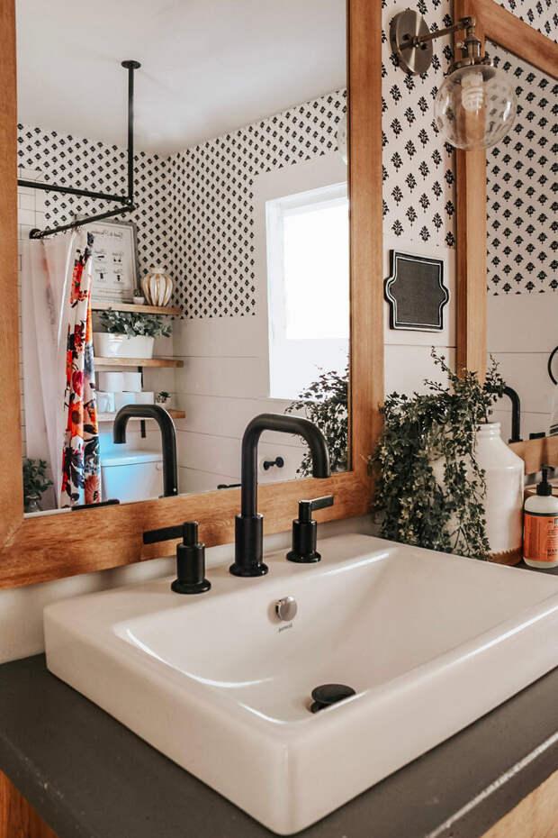 Переделка ванной своими руками! Смотрите, как теперь шикарно и уютно...