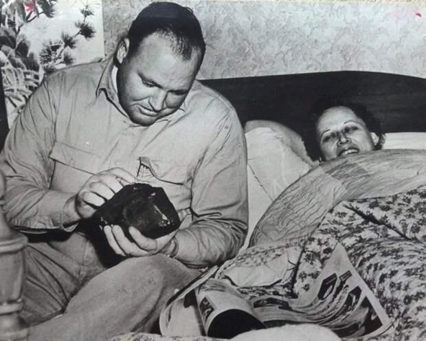 Энн Ходжес - женщина, в которую попал метеорит. | Фото: oldpicz.com.