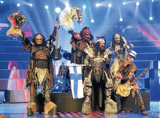 """Монстры, индюк и бородатая женщина. 10 фриков, выступивших на """"Евровидении"""" в разные годы"""