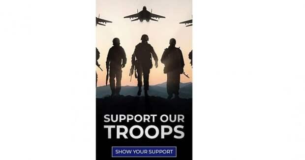 На плакате предвыборной кампании Трампа разместили МиГ-29 и АК-74