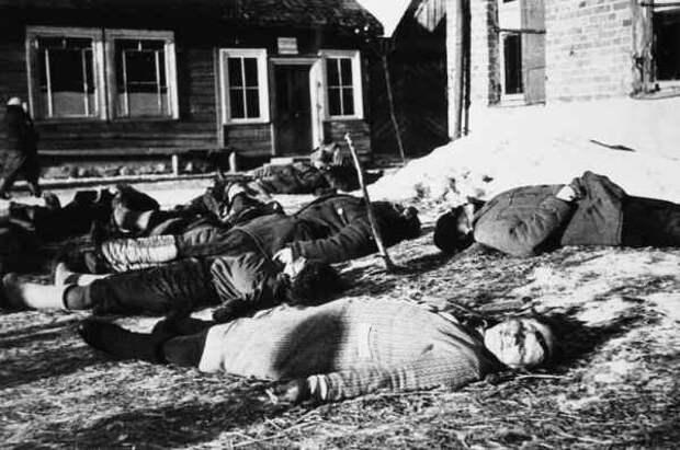 Рассекреченный документ времен ВОВ поведал о зверствах литовских нацистов