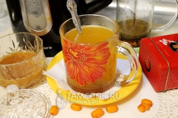 Фото облепихового чая