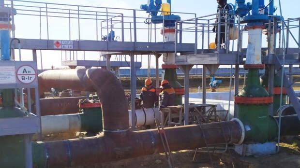 Прокачка нефти из Казахстана через Россию приостановлена из-за морозов