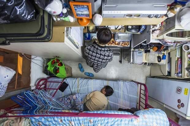 26 удивительных фото самых малогабаритных квартир в мире